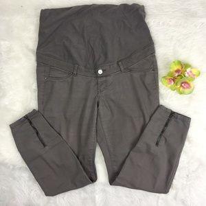 H&M MAMA| Maternity Cotton Blend Ankle Pants